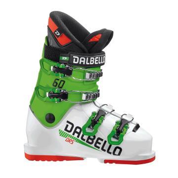 Dalbello 2021 DRS 60 Junior Ski Boots - White/Race Green