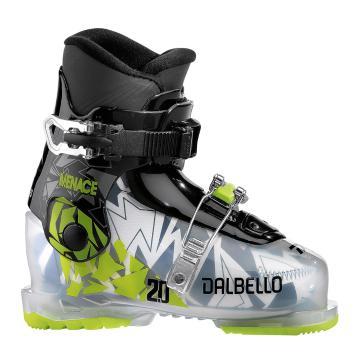 Dalbello Menace 2 Junior Ski Boots - Trans-blk/Blk