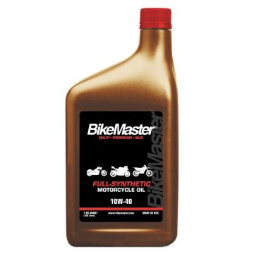 BikeMaster Full Synthetic Motorcycle Oil 10W-40 - 1 Quart