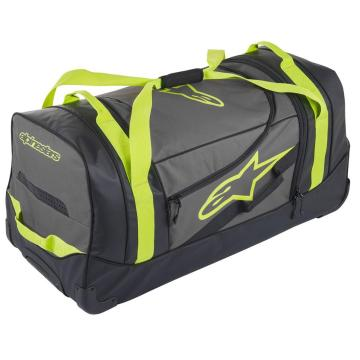 Alpinestars Komodo Roller Bag - Black/Anthracite/Yellow