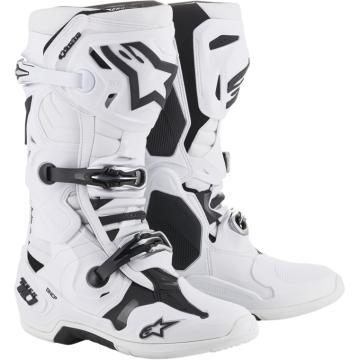 Alpinestars Tech-10 MX Boots - White - White