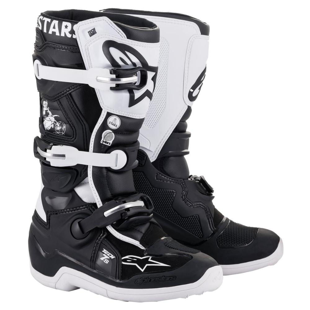 Youth Dialed 21 Tech-7S MX Boots