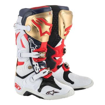 Alpinestars 18 TECH-10 Liberty Limited Edition MX Boots
