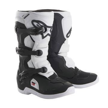 Alpinestars Tech 3S Youth Boots - Black/White
