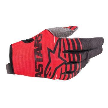 Alpinestars Radar Gloves - Bright Red/Black