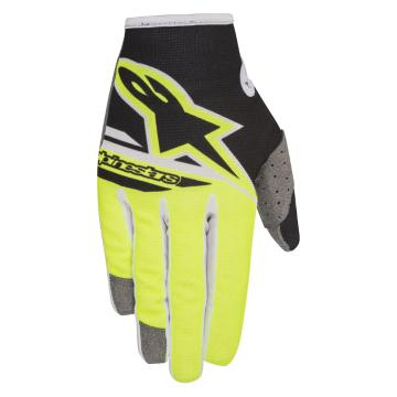 Alpinestars 2018 Radar Flight Gloves - Yellow Fluoro/Black