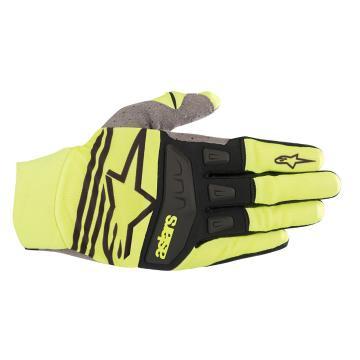 Alpinestars 19 Techstar Gloves - Yellow Fluoro/Black