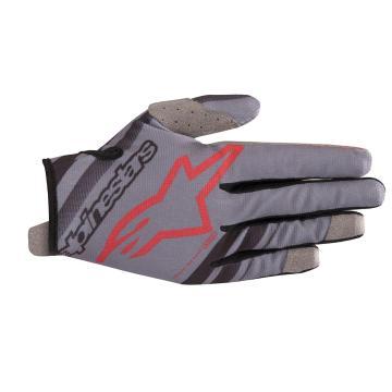 Alpinestars Alpinestars 2019 Radar Gloves - Mid Grey/Black/Burgundy