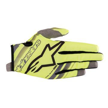Alpinestars Radar Gloves - Yellow Fluoro/Grey