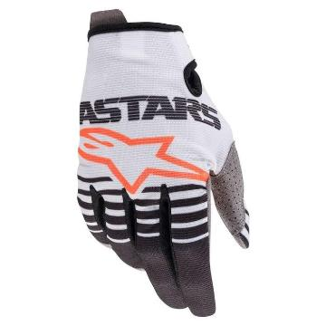 Alpinestars MX20 Radar Gloves - Off White/Black