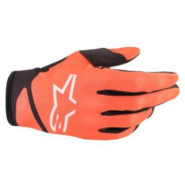 Alpinestars Radar Gloves  - Orange/Black
