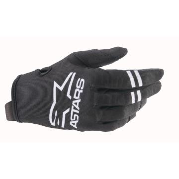 Alpinestars Youth Radar Gloves - Black/White
