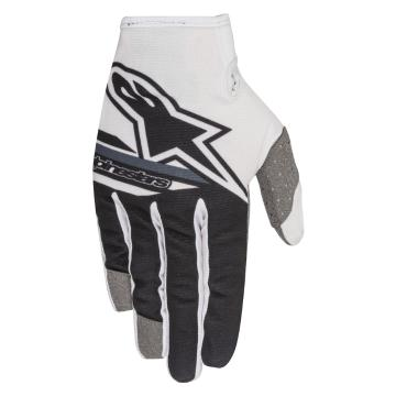 Alpinestars 2018 Youth Radar Flight Gloves - White/Black