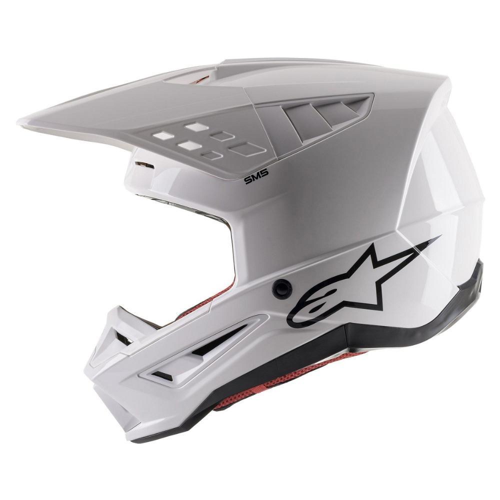 S-M5 Solid Helmet - White