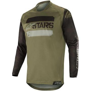 Alpinestars 2019 Racer Tactical Jersey - Black/Military Green