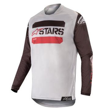 Alpinestars 19 Techstar Graphite Jersey - Black/Gray/Camo/Burg
