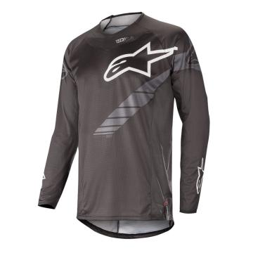 Alpinestars 19 Techstar Graphite Jersey - Black/Anthracite