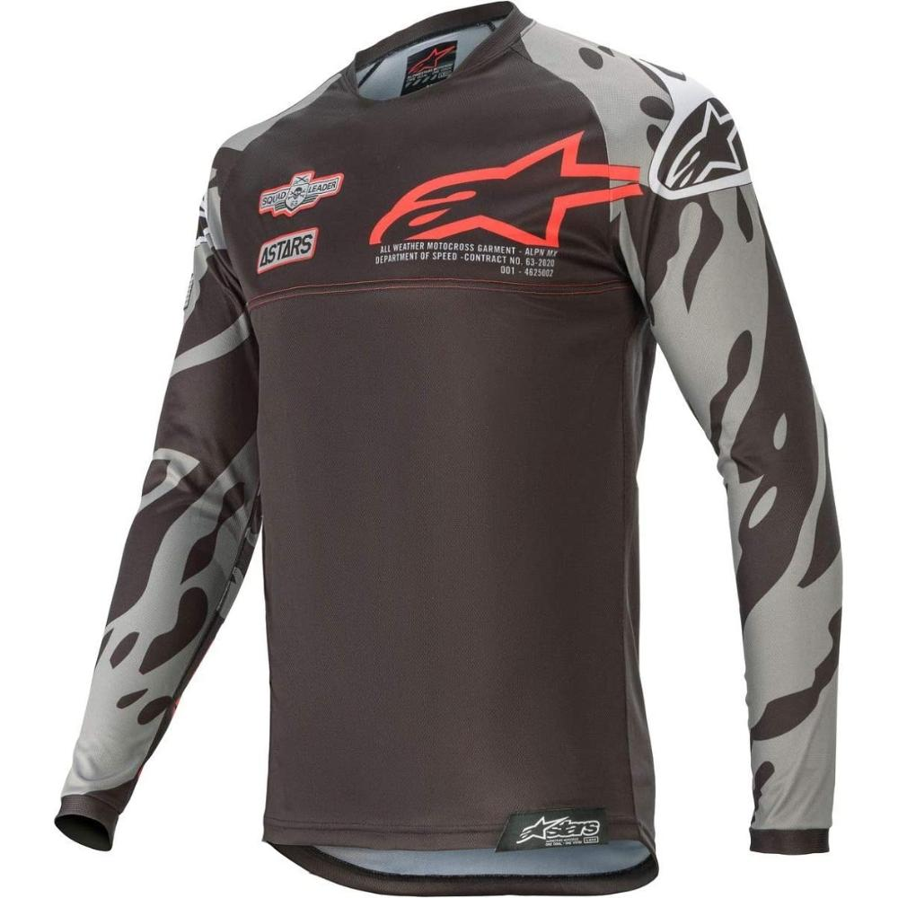 Racer Tech Jersey - Black/Red Gray