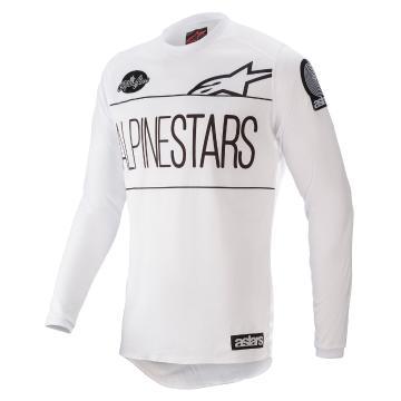 Alpinestars Youth Dialed 21 Racer Jersey - White/Black