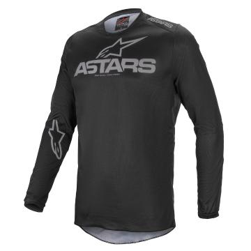 Alpinestars Fluid Graphite Jersey - Black/Dark Gray - Black/Dark Gray