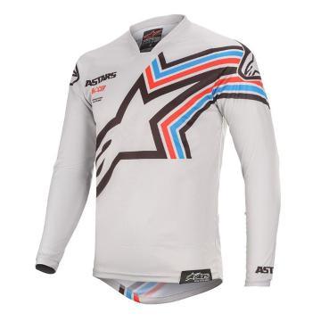 Alpinestars MX20 Racer Braap Jersey - Light Gray/Black