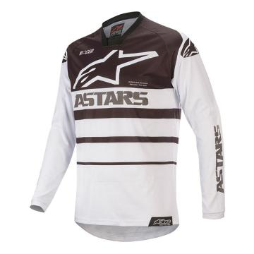 Alpinestars MX20 Racer Supermatic Jersey - White/Black