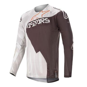 Alpinestars MX20 Techstar Factory Metal Jersey - Gray/Black/Copper
