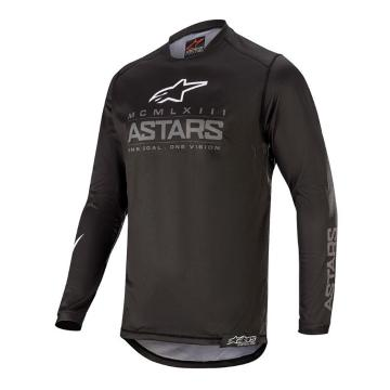 Alpinestars MX20 Youth Racer Graphite Jersey - Black/Dark Gray