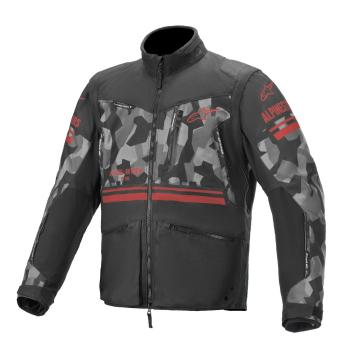 Alpinestars Venture R Jacket - Gray/Camo/Red Fluro