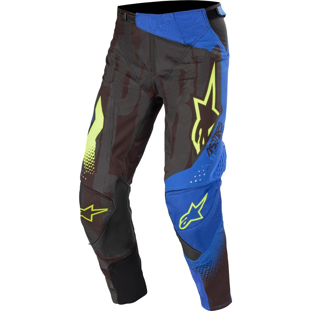 Techstar Factory Pants - Black/Dark Blue/Yellow Fluro