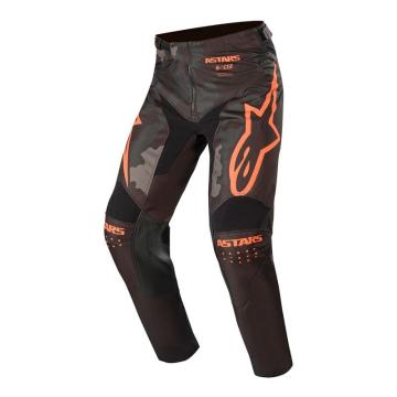 Alpinestars Racer Tactical Pants - Black/Gray Camo/Orange Fluro