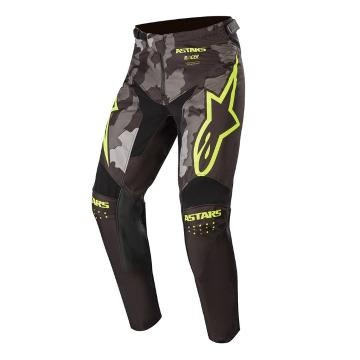 Alpinestars Racer Tactical Pants - Black/Gray Camo/Fluro Yellow
