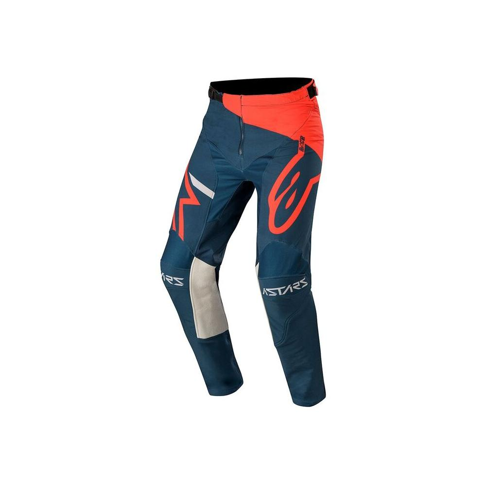 Racer Tech Compass Pants - Bright Red/Navy