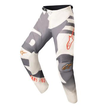 Alpinestars 2018 Limited Edition BlackJack Racer Braap Pants - Sand/Cool Gray/Red Fluro