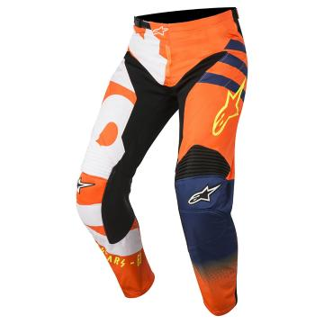 Alpinestars 2018 Racer Braap Pants - Orange Fluoro/Dark Blue/White