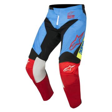 Alpinestars 2018 Racer Supermatic Pants - Aqua/Black/Red