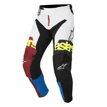 Alpinestars 2018 Racer Flagship Pants - Rio Red/Aqua/White