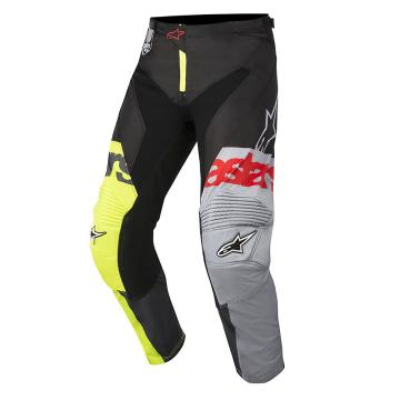 Alpinestars 2018 Racer Flagship Pants - Yellow Flu/Black/Anthracite
