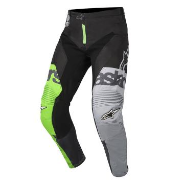 Alpinestars 2018 Racer Flagship Pants - Green Flu/Athracite/Black