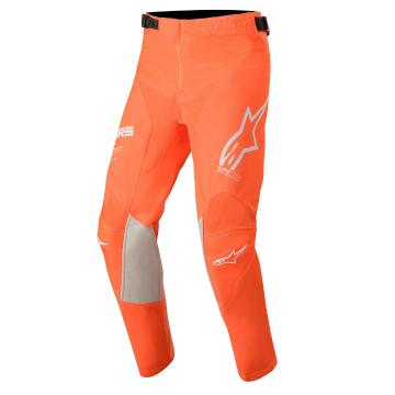 Alpinestars Youth Racer Tech Pants - Orange Fluro/White/Blue