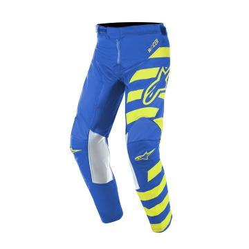 Alpinestars Youth Racer Braap Pants - Blue/Yellow Fluoro