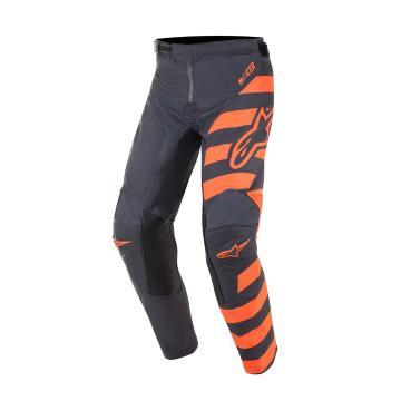 Alpinestars Youth Racer Braap Pants - Anthracite/Orange Fluro