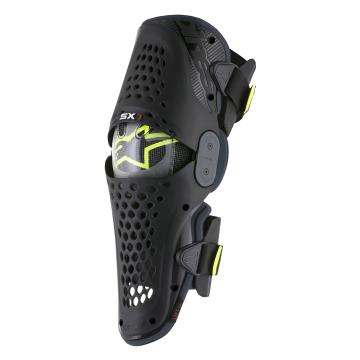 Alpinestars SX-1 Knee Guards - Black/Anthracite