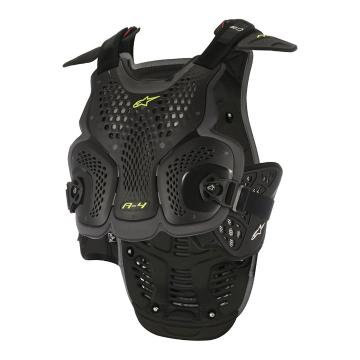 Alpinestars A-4 Chest Protector - Black/Anthracite
