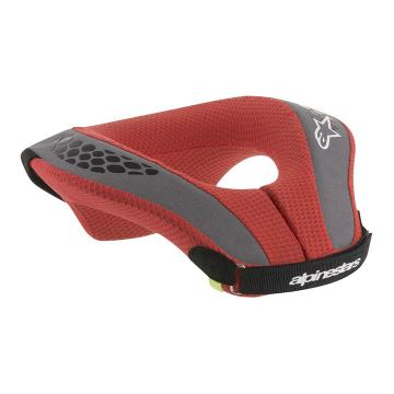 Alpinestars Sequence Youth Neck Roll - Black/Red
