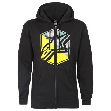 Alpinestars Disruption Zip Fleece Hoodie - Black