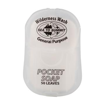 Sea To Summit Wilderness Wash Pocket Soap - 50 Leaves