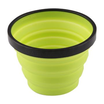 Sea To Summit Silicon Folding X Cup - 250ml - Lime