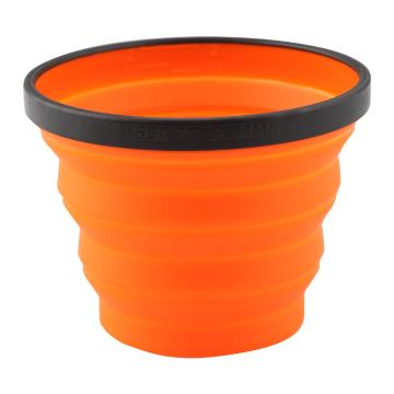 Sea To Summit Silicon Folding X-Mug - 480ml  - Orange