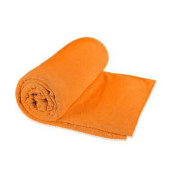 Sea To Summit Microfiber Tek Towel - Extra Small Orange - Orange
